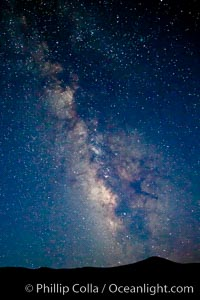 The Milky Way on a clear night