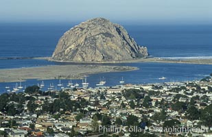 Morro Rock and Morro Bay