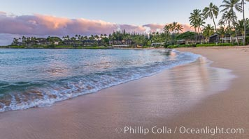Napili Bay in West Maui, Hawaii