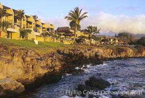 Napili Point Resort, west Maui. Maui, Hawaii, USA, natural history stock photograph, photo id 05602