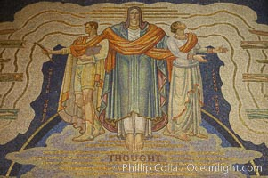 Mosaic, Rockerfeller Center, Manhattan, New York City