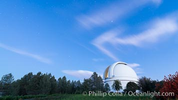 Palomar Observatory at sunset, Palomar Mountain, California