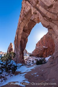 Pine Tree Arch, Arches National Park, Utah