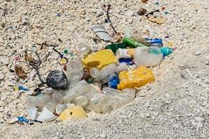 Plastic Trash and Debris, Clipperton Island