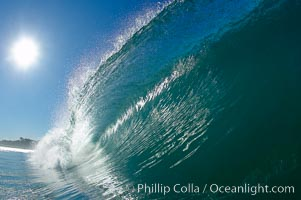 Photography of Waves and Ocean Swells.  Stock Pictures of Surf and the Ocean Surface.