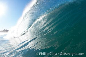 Breaking wave, Ponto, South Carlsbad. Ponto, Carlsbad, California, USA, natural history stock photograph, photo id 17683