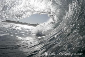Breaking wave, Ponto, South Carlsbad