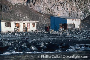 Fishing shack, Guadalupe Island (Isla Guadalupe)