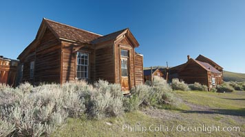 Reddy House, Union Street and Prospect Street, Bodie State Historical Park, California