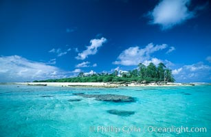 Rose Islet. Rose Atoll National Wildlife Sanctuary, American Samoa, USA, natural history stock photograph, photo id 00829