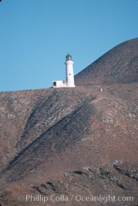 Lighthouse at Isla Benito Oeste, Islas San Benito, San Benito Islands (Islas San Benito)