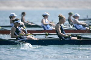 St. Mary's women race in the finals of the Women's Cal Cup final, 2007 San Diego Crew Classic, Mission Bay