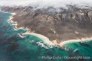 San Miguel Island, aerial photograph