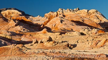 Sandstone formations, Valley of Fire State Park