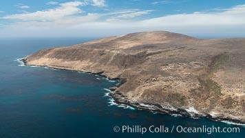 Santa Barbara Island, aerial photograph