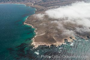 Santa Rosa Island, north side, aerial photo
