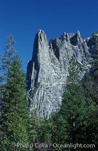 Sentinel Rock, Yosemite Valley, Yosemite National Park, California