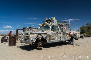 Slab City, Salvation Mountain, Niland, California