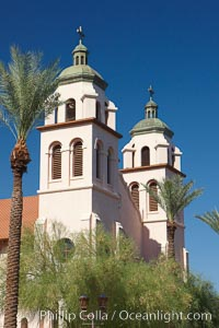 St. Mary's Basilica, in downtown Phoenix adjacent to the Phoenix Convention Center.  The Church of the Immaculate Conception of the Blessed Virgin Mary, founded in 1881, built in 1914, elevated to a minor basilica by Pope John Paul II in 1987