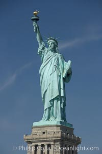 The Statue of Liberty, New York Harbor, Statue of Liberty National Monument, New York City
