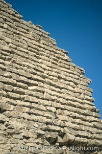 Step pyramid of Djoser (Zoser), detail, Saqqara, Egypt