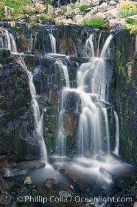 Waterfall, Sunbeam Creek, Mount Rainier National Park, Washington