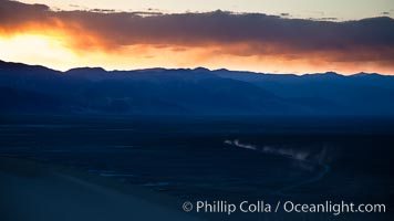 Sunset in the Eureka Valley, Death Valley National Park, California