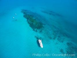 Suwanee Reef, Sea of Cortez, Aerial Photo