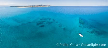 Suwanee Reef, Sea of Cortez, Aerial Photo