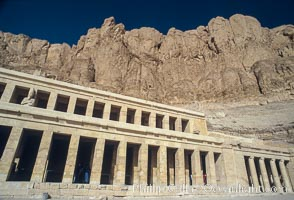 Temple of Hatshepsut. Luxor, Egypt, natural history stock photograph, photo id 02588