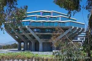 Central Library, University of California San Diego (UCSD), University of California, San Diego, La Jolla