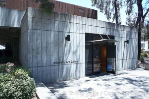 University Art Gallery on Muir College, University of California San Diego (UCSD), University of California, San Diego, La Jolla