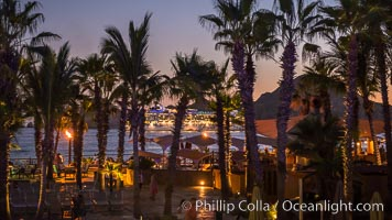 Villa del Palmar resort, sunset, Cabo San Lucas, Baja California, Mexico