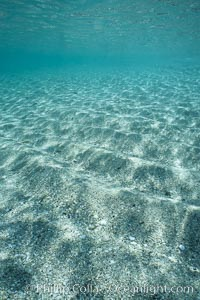 Water, sand and light. Sea of Cortez, La Paz, Baja California, Mexico, natural history stock photograph, photo id 04769