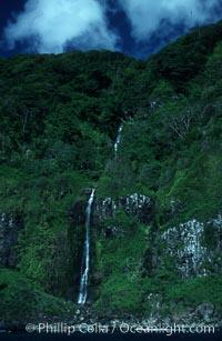 Waterfall, Isla del Coco (Cocos Island)