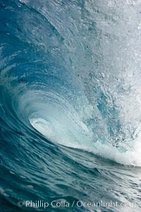 Tube, the Wedge. The Wedge, Newport Beach, California, USA, natural history stock photograph, photo id 17012