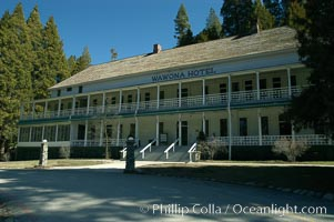 Wawona Hotel, Wawona Village, Yosemite National Park, California