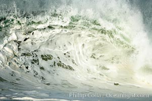 Ugly wave, the Wedge, The Wedge, Newport Beach, California