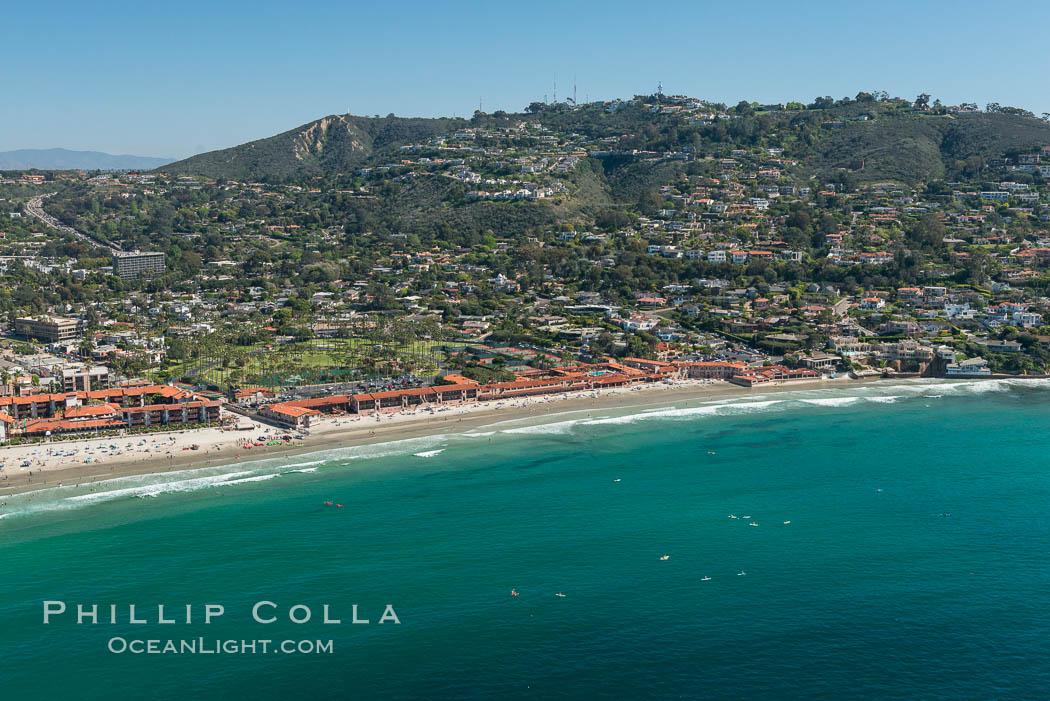Aerial Photo of Matlahuayl State Marine Reserve (SMR), La Jolla Shores Beach. La Jolla, California, USA, natural history stock photograph, photo id 30631