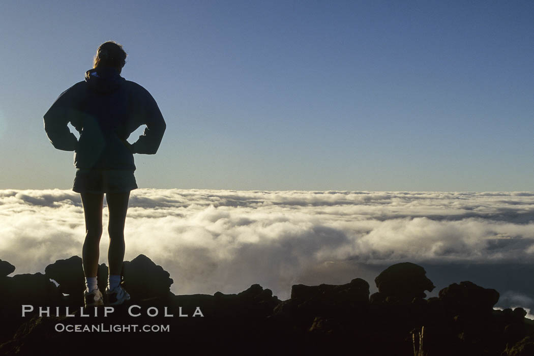 Atop Haleakala volcano.,  Copyright Phillip Colla, image #05609, all rights reserved worldwide.