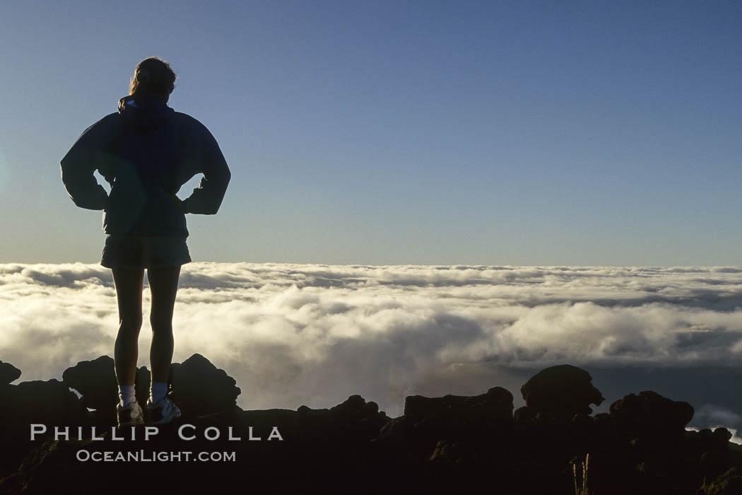 Atop Haleakala volcano, Maui