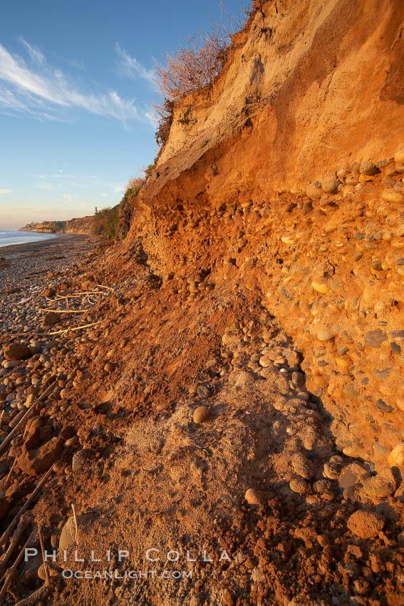 Carlsbad California Beach Cliffs