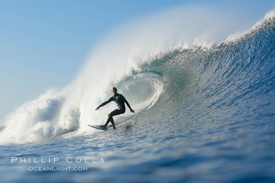 Ponto, South Carlsbad, morning surf.,  Copyright Phillip Colla, image #17718, all rights reserved worldwide.