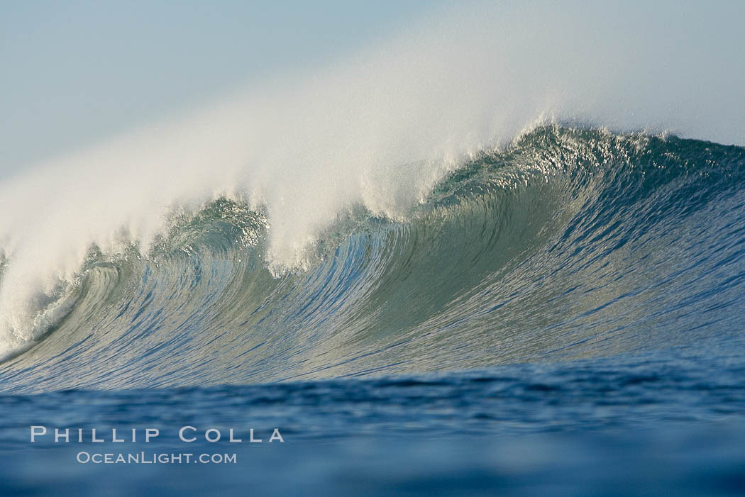 Ponto, South Carlsbad, morning surf.,  Copyright Phillip Colla, image #17720, all rights reserved worldwide.