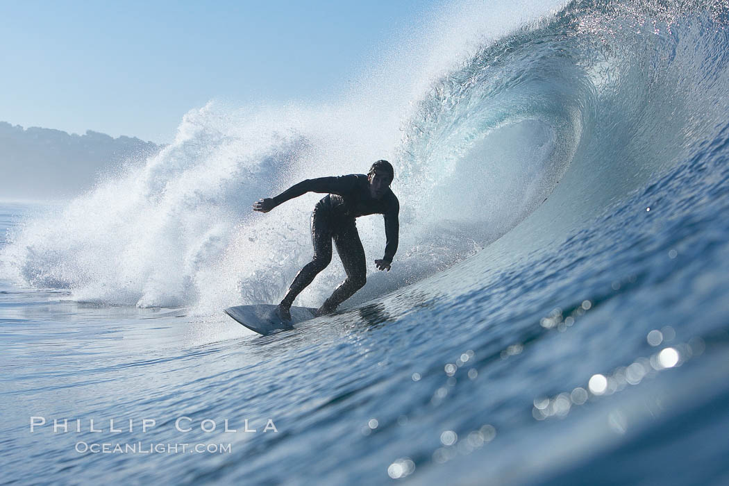 Ponto, South Carlsbad, morning surf.,  Copyright Phillip Colla, image #17717, all rights reserved worldwide.