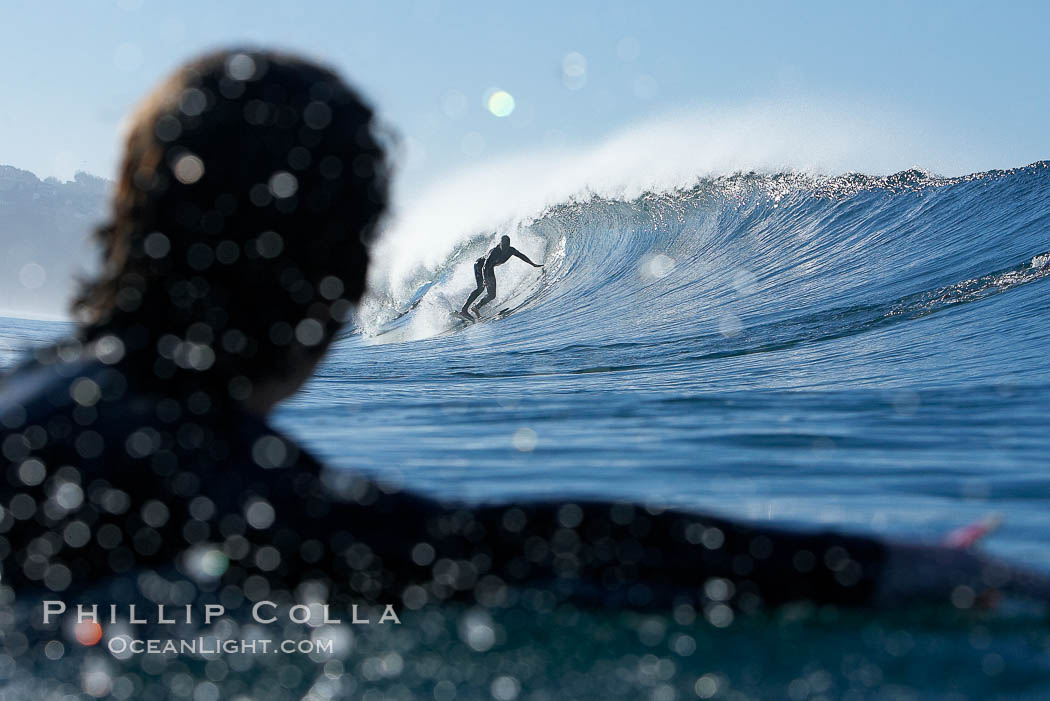 Ponto, South Carlsbad, morning surf.,  Copyright Phillip Colla, image #17725, all rights reserved worldwide.