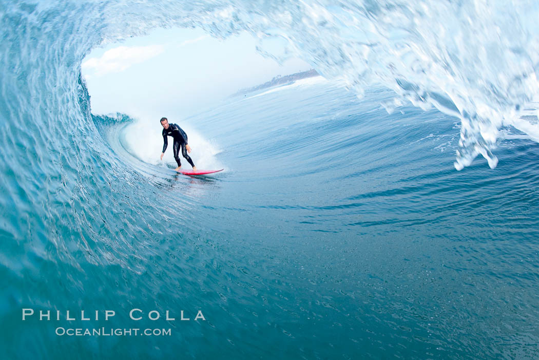 Ponto, South Carlsbad, morning surf.,  Copyright Phillip Colla, image #17821, all rights reserved worldwide.