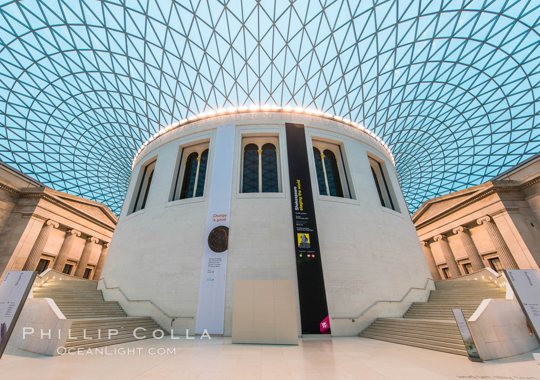 Foyer Museum London : Central foyer british museum photo stock of