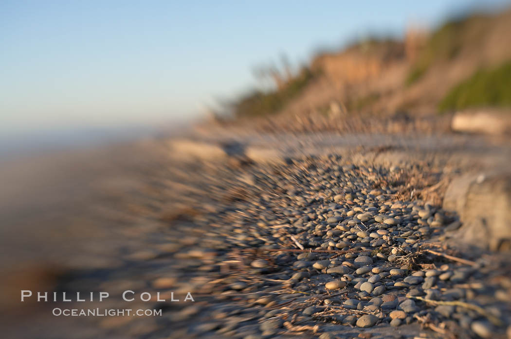 Cobblestones, South Carlsbad State Beach, Carlsbad. Ponto, Carlsbad, California, USA, natural history stock photograph, photo id 17984