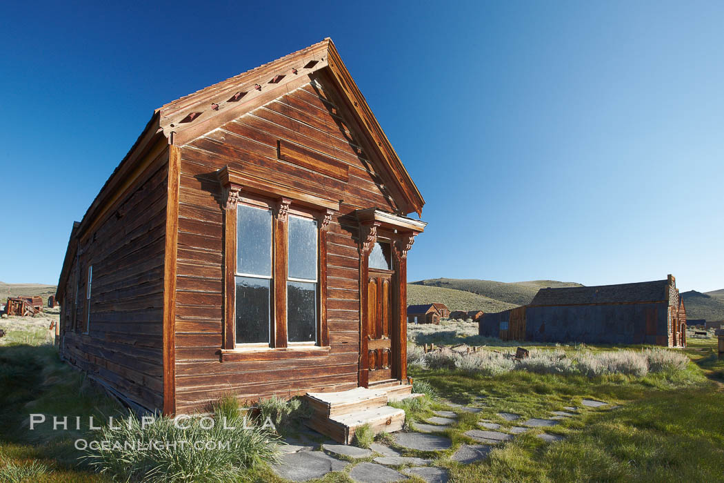 L. Johl house, Main Street. Bodie State Historical Park, California, USA, natural history stock photograph, photo id 23115